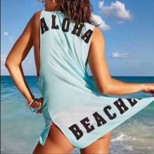 NWOT VS PINK aloha beaches cover up